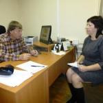 Представитель краснодарских архивистов на стажировке в РГАЭ