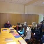 Студенты Историко-архивного института РГГУ на экскурсии в РГАЭ