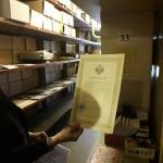 В архивохранилище личных фондов
