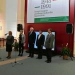 Церемонию открытия выставки ведет Е.А. Тюрина