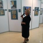 Е.А. Тюрина проводит первую экскурсию