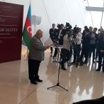 Приветствие В.В. Путина оглашает В.А. Чернов