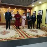 Открытие выставки в г. Улан-Баторе
