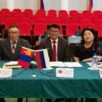 Члены монгольской делегации
