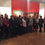 Экскурсия сотрудников РГАЭ на выставку в ГАРФ