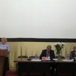 С отчетным докладом выступила Е.А. Тюрина