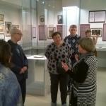 Экскурсия сотрудников РГАЭ на выставку в РГАЛИ