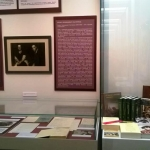 Экспозиция выставки РГАЛИ